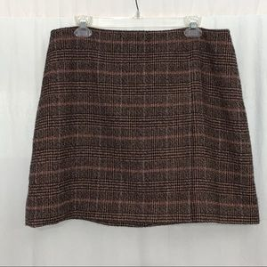 Canvas by Land's End Women's Mini Skirt Size 14